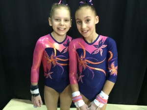 Gymnix 2016 - Carley and Jaedyn