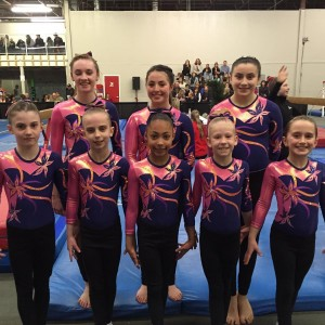 Team Gold at Ed Vincent Competition (1)